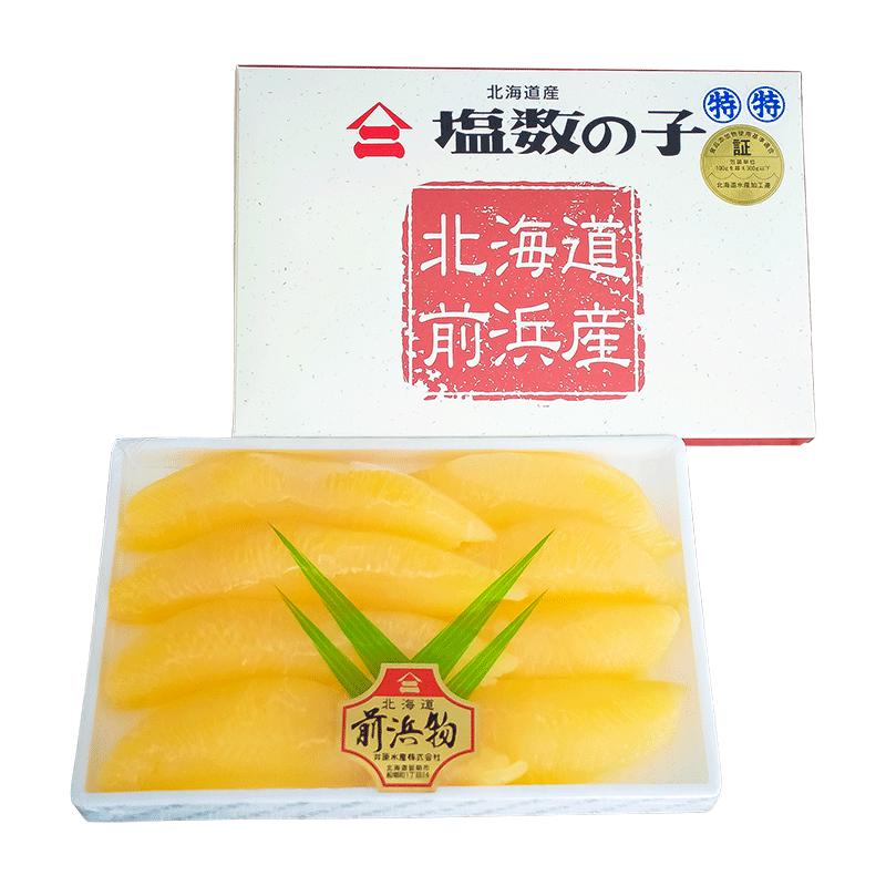 塩数の子 北海道産 特特300g (化粧箱)